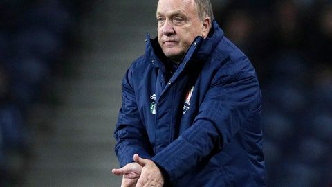 <p>               FILE - In this Thursday, Dec. 12, 2019 file photo, Feyenoord's head coach Dick Advocaat gestures during their Europa League group G soccer match against FC Porto at the Dragao stadium in Porto, Portugal. Veteran coach Dick Advocaat has extended his contract with Feyenoord by a year to keep him in charge of the Rotterdam club through next season, it was announced Tuesday, April 21, 2020. Feyenoord hired Advocaat in late October to succeed Jaap Stam, who resigned after less than half a season in charge and with the team struggling at 12th in the top flight Eredivisie.  (AP Photo/Miguel Angelo Pereira, file)             </p>