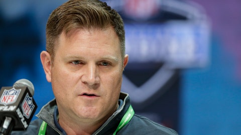 <p>               FILE - In this Feb. 25, 2020, file photo, Green Bay Packers general manager Brian Gutekunst speaks during a press conference at the NFL football scouting combine in Indianapolis. The Packers would love to give quarterback Aaron Rodgers more weapons as they attempt to make at least one more Super Bowl run with the 36-year-old, two-time MVP. That doesn't necessarily mean you should pencil in a receiver to Green Bay with the 30th overall pick in the NFL Draft. (AP Photo/Michael Conroy, File)             </p>