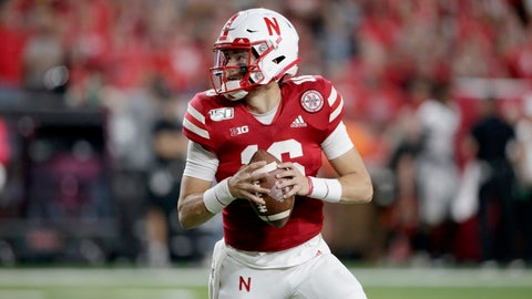 <p>               File- In this Sept. 14, 2019 file photo, Nebraska quarterback Noah Vedral (16) looks for a receiver during the second half of an NCAA college football game against Northern Illinois in Lincoln, Neb. Nebraska quarterback Noah Vedral has entered the transfer portal and plans to play his final two seasons at another school, an athletic department spokesman confirmed Tuesday, April 28, 2020. (AP Photo/Nati Harnik, File)             </p>