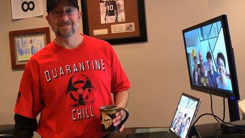 Eric Sugarman, Vikings certified athletic trainer