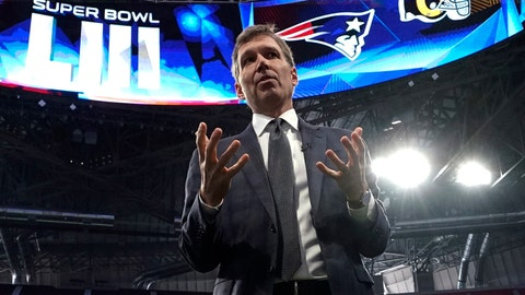 <p>               FILE - In this Jan. 29, 2019, file photo, NFL Chief Medical Officer Dr. Allen Sills gestures while speaking during a health and safety tour at Mercedes-Benz Stadium for the NFL Super Bowl 53 football game in Atlanta. Days after the NFL revealed its hopes of conducting a normal regular season and playoffs, its chief medical officer warns that nothing is a certainty during the coronavirus pandemic. Sills, a neurosurgeon who has been with the NFL since 2017, says he and other league and team medical personnel have been in constant communication with health officials throughout the country, looking at the same data they are using to make public recommendations. (AP Photo/David J. Phillip, File)             </p>