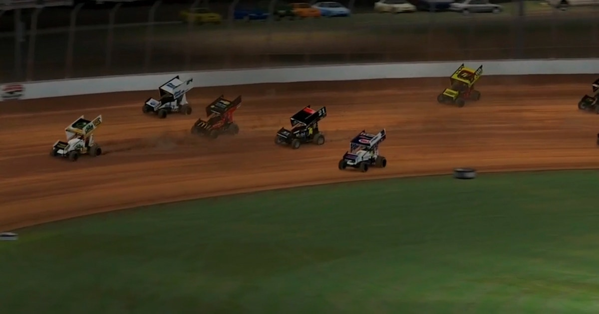 HIGHLIGHTS: World of Outlaws at Virtual Charlotte Dirt Track (VIDEO)