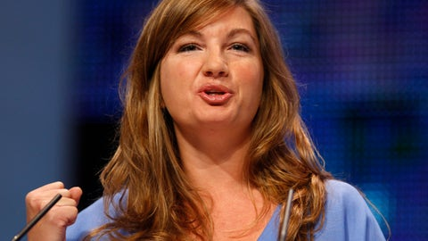 <p>               FILE - In this Sunday, Sept. 28, 2008 file photo, Karren Brady, managing director of Birmingham City Football Club gives a speech at The Conservative Party Conference in Birmingham, England. West Ham chief executive Karren Brady believes the timescale for a Premier League return is no clearer than when the coronavirus lockdown started. The EPL stated after talks with the clubs on Friday April 17, 2020, that its objective remains to complete the season. But Brady feels questions need to be answered over player training, the presence of police at matches, virus testing and medical protocols (AP Photo/Kirsty Wigglesworth, File)             </p>