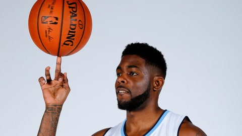"<p>               FILE - In this Monday, Sept. 28, 2015 file photo, Devin Sweetney poses during Denver Nuggets media day Monday, Sept. 28, 2015. Sweetney knew even before the coronavirus outbreak that nothing was guaranteed when it came to getting paid for playing overseas. The 32-year-old American said the Greek basketball team he played for this season still owes him ""thousands of dollars."" American players have been able to earn livings by infusing European basketball teams with scoring and ball handling but now they're worried there will be fewer jobs and lower salaries in the economic fallout of the coronavirus. (AP Photo/Jack Dempsey, File)             </p>"
