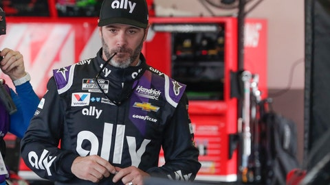 <p>               FILE - In this Feb. 15, 2020, file photo, Jimmie Johnson gets ready for a practice session for the NASCAR Daytona 500 auto race at Daytona International Speedway in Daytona Beach, Fla. Jimmie Johnson wanted to retire from full-time racing to step away from NASCAR's 11-month grind. The coronavirus pandemic has brought his final season to an unexpected pause, and now the seven-time champion isn't sure what his future holds.(AP Photo/John Raoux, File)             </p>