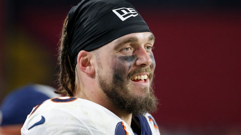 <p>               FILE - In this Oct. 18, 2018, file photo, Denver Broncos defensive end Derek Wolfe looks on during an NFL football game against the Arizona Cardinals in Glendale, Ariz. Wolfe figured he missed yet another chance to join the Baltimore Ravens when the team reached agreement last month on a three-year contract with free agent defensive lineman Michael Brockers. After the deal fell through, Wolfe immediately contacted his agent and insisted that he get in touch with the Ravens. Not long after that, the longtime tackle with the Broncos received a one-year pact with Baltimore.(AP Photo/Rick Scuteri, File)             </p>