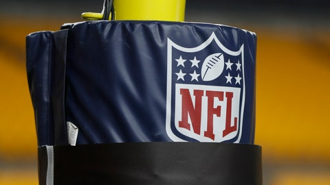 <p>               FILE - In this Dec. 15, 2019, file photo, The NFL logo NFL is on the goal post at Heinz Field before an NFL football game between the Pittsburgh Steelers and the Buffalo Bills in Pittsburgh. Disabled Sports USA, with funding from the NFL and the Bob Woodruff Foundation, plans to launch a league in the fall. (AP Photo/Keith Srakocic, File)             </p>