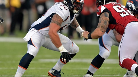 <p>               FILE - In this Aug. 1, 2019, file photo, Denver Broncos offensive guard Connor McGovern (60) blocks during the Pro Football Hall of Fame NFL preseason game against the Atlanta Falcons in Canton, Ohio. McGovern's tireless work ethic was born from football and potatoes. The big, Midwest-bred New York Jets offensive lineman spent his childhood playing on the ballfields of Fargo, North Dakota, and helping out on the potato-filled farms owned by his family. (AP Photo/David Richard, File)             </p>