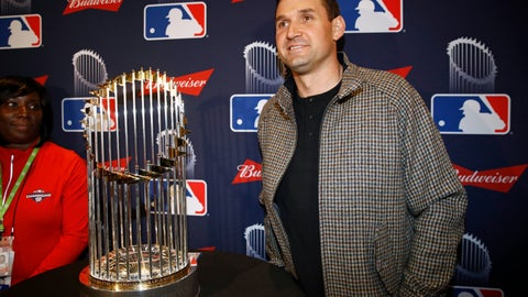 <p>               FILE - In this Dec. 2, 2019, file photo, Washington Nationals first baseman Ryan Zimmerman poses with the World Series trophy in Washington. With baseball on hold because of the coronavirus pandemic, Zimmerman occasionally will offer his thoughts via diary entries published by the AP, while waiting for the 2020 season to begin. (AP Photo/Patrick Semansky, File)             </p>