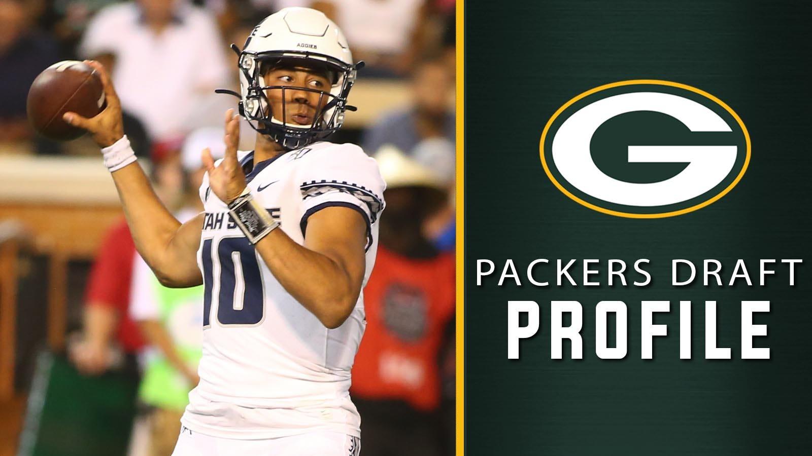 Packers Draft Profile Utah State Qb Jordan Love Fox Sports