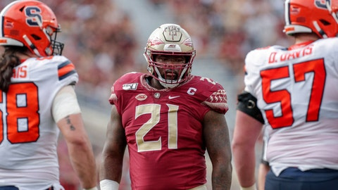 Tennessee Titans — Marvin Wilson, DT, Florida State (19)