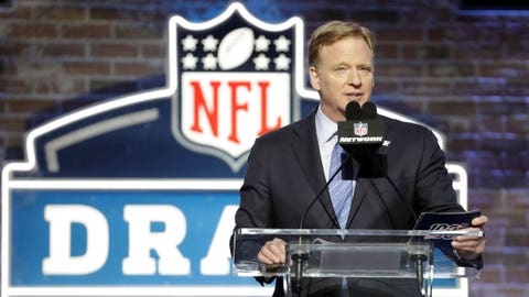 NFL Draft 2020: Roger Goodell might truly love being a villain
