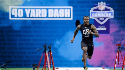 Henry Ruggs' draft position: Over 13.5 (-110)