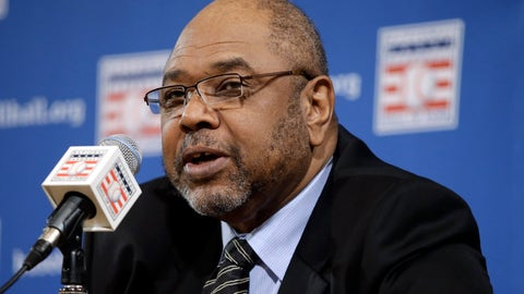 <p>               FILE - In this Dec. 3, 2012, file photo, Bob Watson talks about the selections made to the Baseball Hall of Fame by the pre-integration era committee, at the baseball winter meetings in Nashville, Tenn. Watson, a two-time All-Star as a player who later became the first African American general manager to win a World Series with the Yankees in 1996, has died. He was 74. (AP Photo/Mark Humphrey, File)             </p>