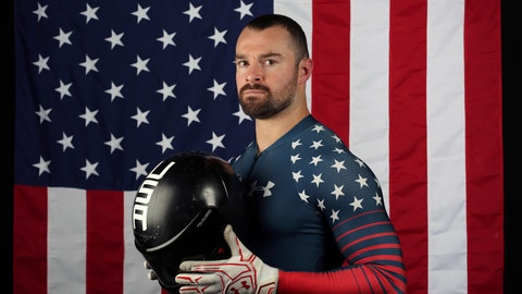 <p>               FILE - In this Sept. 26, 2017, file photo, United States bobsledder Carlo Valdes poses for a portrait at the 2017 Team USA Media Summit in Park City, Utah. Valdes, a member of the 2018 U.S. Olympic team, has announced that he is returning to the sport with hopes of making the team for the 2022 Beijing Games. (AP Photo/Rick Bowmer, File)             </p>