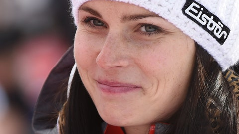 <p>               FILE - In this Dec. 17, 2017, file photo, Austria's Anna Veith smiles in the finish area at the women's World Cup super-G ski race in Val d'Isere, France. Veith, who twice returned to the top from serious knee injuries but called it a career a year after blowing out her knee for the third time, announced her retirement Saturday, May 23, 2020.  (AP Photo/Marco Tacca, File)             </p>