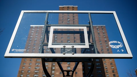<p>               FILE - In this March 26, 2020, file photo, basketball backboards stand without hoops after city officials had them removed to reduce gatherings at Holcombe Rucker Park in New York. The COVID-19 pandemic has left the New York street ball scene quiet. While the city is set to slowly begin reopening this month, recreation activities aren't set to be addressed for several weeks. It's left open the possibility that New York's hallowed outdoor courts such as Rucker Park, all as much a part of New York's basketball culture as the Knicks and Madison Square Garden, could remain silenced into summer. (AP Photo/John Minchillo, File)             </p>
