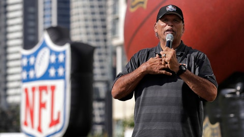 <p>               FILE - In this Nov. 17, 2019, file photo, former Cincinnati Bengals player Anthony Munoz speaks during the NFL PLAY 60 event in Mexico City. The Pro Football Hall of Fame will have three members livestream a session Friday, May 22, 2020, with Ohio youngsters as part of its Strong Youth Strong Community program. (AP Photo/Marcio Jose Sanchez, File)             </p>
