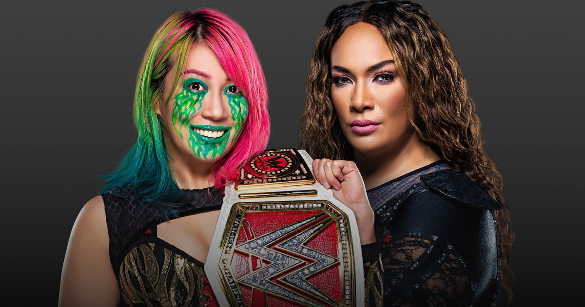 Raw Women's Champion Asuka vs. Nia Jax