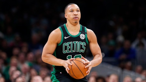 <p>               In this March, 8, 2020 photo Boston Celtics' Grant Williams plays against against the Oklahoma City Thunder during an NBA basketball game in Boston. Williams hasn't been limited to just virtual meetings with teammates during the pandemic. The rookie has been living with Boston teammate Kemba Walker, taking the All-Star point guard up on his invitation to stay with him at his home in Charlotte, N.C. not long after the league shut down in March. Williams says the company has helped him stay in shape and improve on facets of his game. He remains hopeful the NBA season will resume and believes officials will only do so if it can be done safely. (AP Photo/Michael Dwyer)             </p>
