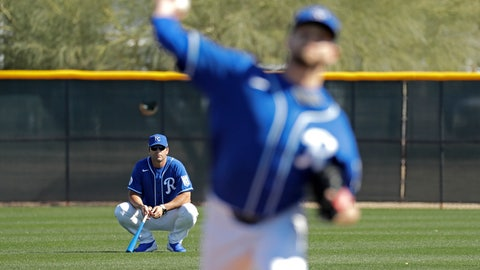 <p>               FILE - In this Feb. 16, 2020, file photo, Kansas City Royals manager Mike Matheny, back left, watches as pitcher Jesse Hahn throws during spring training baseball practice in Surprise, Ariz. The Royals had an entire offseason and most of spring training to get to know Mike Matheny. But one unintended consequence of the coronavirus pandemic is they've gotten to know their new manager better than they could ever have imagined. (AP Photo/Charlie Riedel, File)             </p>