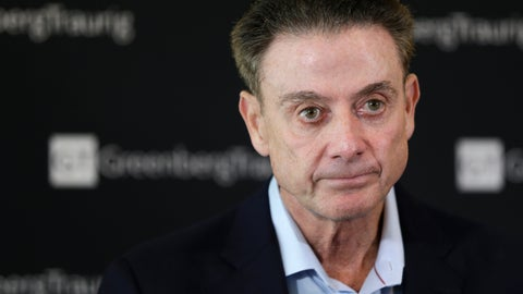 <p>               FILE - In this Feb. 21, 2018, file photo, former Louisville basketball Hall of Fame coach Rick Pitino talks to reporters during a news conference in New York. Louisville has received a notice of allegations from the NCAA that accuses the men's basketball program of committing a Level I violation with an improper recruiting offer and extra benefits and several Level II violations that accuse former Cardinals coach Rick Pitino of failing to promote an atmosphere of compliance. The notice released on Monday, May 4, 2020, is the completion of a two-year NCAA investigation following a federal corruption probe into college basketball.(AP Photo/Seth Wenig, File)             </p>