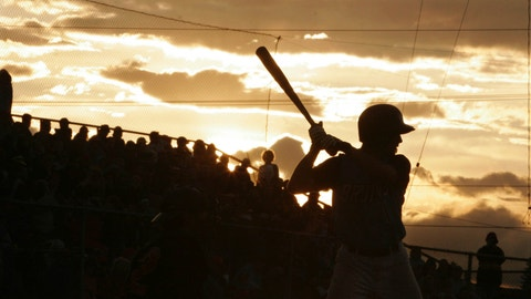 <p>               FILE - In this June 21, 2006, file photo, Beatrice Bruins' Travis Tucker takes his turn at bat during the fifth inning of the Midnight Sun game between the Bruins and the Alaska Goldpanners in Fairbanks, Alaska. The Alaska Baseball League has canceled its summer season, as the future of sports worldwide remains uncertain during the coronavirus pandemic. The league website says this season will be canceled to keep everyone safe from exposure to COVID-19. (AP Photo/Nora Gruner, File)             </p>