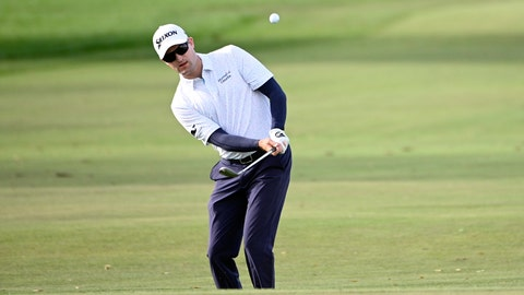 <p>               FILE - In this March 5, 2020, file photo, Russell Knox, of Scotland, chips onto the sixth green during the first round of the Arnold Palmer Invitational golf tournament in Orlando, Fla. Knox plans to drive his RV some 1,000 miles each way to PGA Tour events when they resume. (AP Photo/Phelan M. Ebenhack, File)             </p>