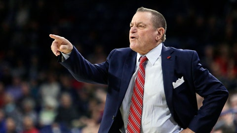 <p>               FILE - In this Nov. 29, 2017, file photo, Incarnate Word head coach Ken Burmeister directs his team during the first half of an NCAA college basketball game against Gonzaga in Spokane, Wash. Burmeister, a college basketball coach for 21 seasons who took Texas-San Antonio to the NCAA Tournament and later guided Loyola of Chicago, died Tuesday, May 19, 2020. He was 72. Loyola said Burmeister died following a bout with cancer. (AP Photo/Young Kwak, File)             </p>