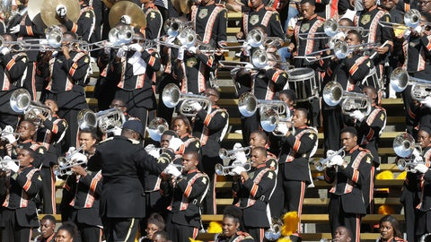 <p>               FILE - In this Sept. 5, 2015, file photo, Grambling State's marching band performs during the first half of an NCAA college football game against California in Berkeley, Calif. HBCUs in the Southwestern Athletic Conference have fared well economically so far despite the shutdown of sports because of the new coronavirus. But these programs could take a huge financial hit if fans are banned from football games this fall because of the pandemic. (AP Photo/Ben Margot, File)             </p>