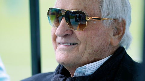 <p>               FILE - In this Nov. 17, 2019, file photo, former Miami Dolphins head coach Don Shula watches the team before an NFL football game against the Buffalo Bills in Miami Gardens, Fla. Shula, who won the most games of any NFL coach and led the Miami Dolphins to the only perfect season in league history, died Monday, May 4, 2020, at his home in Indian Creek, Fla., the team said. He was 90. (AP Photo/Wilfredo Lee, File)             </p>