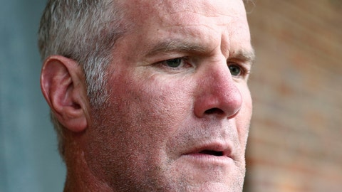 <p>               FILE - In this Oct. 17, 2018, file photo, former NFL quarterback Brett Favre speaks with reporters in Jackson, Miss., about his support for Willowood Developmental Center, a facility that provides training and assistance for special needs students,T he Mississippi state auditor's office said in a report it released Monday, May 4, 2020, that a nonprofit group used welfare money to pay $1.1 million to Favre for multiple speaking engagements but Favre did not show up for the events. Favre was paid $500,000 in December 2017 and $600,000 in June 2018, according to an audit of the Mississippi Department of Human Services. Favre is not charged with any wrongdoing. (AP Photo/Rogelio V. Solis, File)             </p>