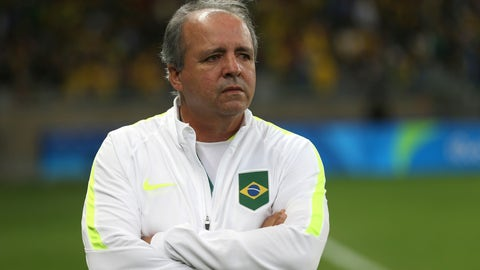 <p>               FILE - In this Aug. 12, 2016 file photo, Brazil's coach Oswaldo Alvarez Vadao, looks on prior to a quarter-final match at the women's Olympic football tournament between Brazil and Australia at the Mineirao Stadium in Belo Horizonte, Brazil. Oswaldo Alvarez, who coached Brazil's women's soccer team in the latest two World Cups, died Monday, May 25, 2020 in a hospital in Sao Paulo, according to the Brazilian soccer confederation. Alvarez Vadao recently said he was getting treatment for a liver cancer. (AP Photo/Eugenio Savio, File)             </p>