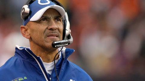 <p>               FILE - In this Nov. 30, 2008, file photo, Indianapolis Colts coach Tony Dungy watches from the sideline as his team plays the Cleveland Browns during the third quarter of an NFL football game in Cleveland. Dungy is the first African-American head coach to win a Super Bowl and has been a strong advocate of more diversity in coaching hires. (AP Photo/Amy Sancetta, File)             </p>