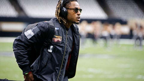 <p>               FILE - In this Nov. 10, 2019 file photo Atlanta Falcons cornerback Isaiah Oliver arrives before an NFL football game against the New Orleans Saints in New Orleans. Whenever normalcy returns to the NFL, Isaiah Oliver knows there will be a new role waiting for him as a leader in the Atlanta Falcons' secondary. A second-round pick in 2018, Oliver is suddenly one of the most experienced cornerbacks on the roster after the team cut ties with longtime stalwart Desmond Trufant in a salary cap move. (AP Photo/Butch Dill, file)             </p>