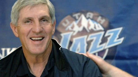<p>               FILE - In this May 12, 2005, file photo, Utah Jazz coach Jerry Sloan smiles during a news conference in Salt Lake City. The Utah Jazz have announced that Jerry Sloan, the coach who took them to the NBA Finals in 1997 and 1998 on his way to a spot in the Basketball Hall of Fame, has died. Sloan died Friday morning, May 22, 2020, the Jazz said, from complications related to Parkinson's disease and Lewy body dementia. He was 78. (AP Photo/Fred Hayes, File)             </p>