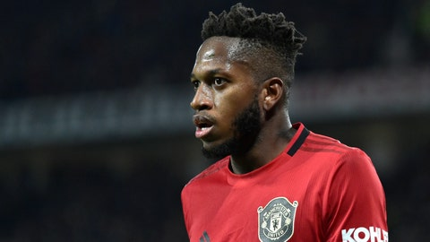 """<p>               FILE - In this Wednesday, Dec. 4, 2019 file photo, Manchester United's Fred looks on during their English Premier League soccer match against Tottenham Hotspur at Old Trafford in Manchester, England. Manchester United midfielder Fred says he finally feels settled at the club after what he described as an """"awful"""" first year in English soccer because of personal issues. The Brazil international believes he had rediscovered some of his best form before the suspension of the Premier League because of the coronavirus outbreak. (AP Photo/Rui Vieira, file)             </p>"""