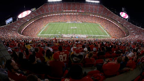 <p>               FILE - In this Aug. 24, 2019, file photo, the Kansas City Chiefs and the San Francisco 49ers play during the second half of an NFL preseason football game at Arrowhead Stadium in Kansas City, Mo. The Chiefs will open defense of their Super Bowl championship by hosting Houston on Sept. 10 in the NFL's annual kickoff game — pending developments in the coronavirus pandemic, of course. (AP Photo/Charlie Riedel, File)             </p>