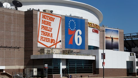 <p>               FILE - This is a March 14, 2020, file photo showing the Wells Fargo Center, home of the Philadelphia Flyers NHL hockey team and the Philadelphia 76ers NBA basketball team. The Philadelphia Flyers and 76ers are set to offer refunds or credits for unplayed regular-season games at their shared arena because of the coronavirus pandemic.  While neither the NHL or NBA has officially canceled the remainder of the season, or decided when and where the season may resume, both organizations on Tuesday, May 5, 2020,  decided to address the ticket status for games scheduled for the Wells Fargo Center. (AP Photo/Matt Slocum, File)             </p>