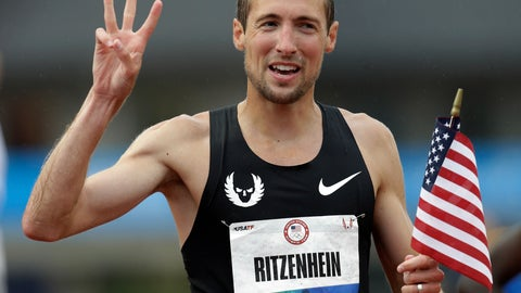 <p>               FILE - In this June 22, 2012, file photo, Dathan Ritzenhein reacts after finishing third in the men's 10,000m finals at the U.S. Olympic Track and Field Trials in Eugene, Ore. Distance runner Dathan Ritzenhein announced his retirement Thursday, May 7, 2020, closing a career during which he made three Olympic appearances and also was one of the first to question the methods being used by his coach, Alberto Salazar, who is serving a four-year doping suspension. (AP Photo/Eric Gay, File)             </p>