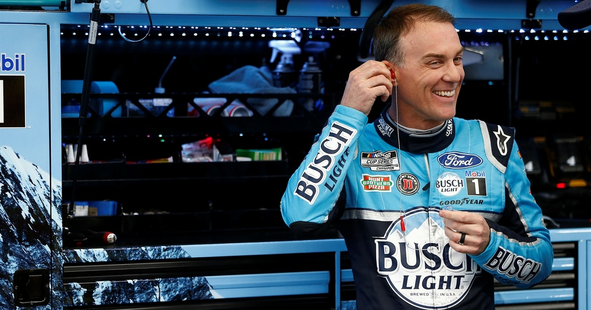 Kevin Harvick is prepping for Darlington Raceway when NASCAR returns on Sunday (VIDEO) thumbnail