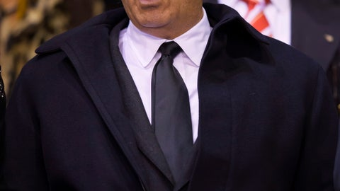 <p>               FILE - In this photo taken on Oct. 22, 2015, Liverpool chairman Tom Werner takes to the stands before the Europa League Group B soccer match between Liverpool and Rubin Kazan at Anfield Stadium, Liverpool, England. The Premier League trophy should have been in Tom Werner's hands by now. This week should have featured a victory parade through the streets of Liverpool. But the wait to end the 30-year title drought goes on. (AP Photo/Jon Super)             </p>