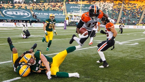 <p>               FILE - In this Oct. 12, 2019, file photo, BC Lions' Ryan Lankford (17) leaps past Edmonton Eskimos defenders during the first half of a Canadian Football League game in Edmonton, Alberta, CFL Commissioner Randy Ambrosie said the most likely scenario is to cancel the season because of the coronavirus pandemic. Ambrosie made the admission Thursday, May 7, in testimony to a House of Commons standing committee on finance in Ottawa, Ontario. He appeared via video during a panel on arts, culture, sports and charitable organizations after news broke last week that the CFL requested up to $150 million Canadian in assistance from the federal government. (Jason Franson/The Canadian Press via AP, File)             </p>