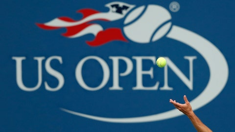 <p>               FILE - In this Sept. 2, 2017, file photo, Philipp Kohlschreiber, of Germany, serves to John Millman, of Australia, during the third round of the U.S. Open tennis tournament in New York. A high-ranking official for the U.S. Open tells the Associated Press that if the Grand Slam tennis tournament is held in 2020, she expects it to be at its usual site in New York and in its usual dates starting in August.  (AP Photo/Adam Hunger, File)             </p>