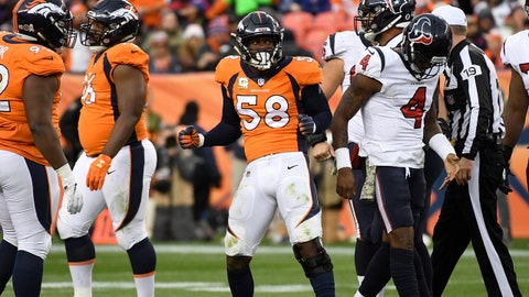 Denver Broncos (-1.5) vs. Tennessee Titans