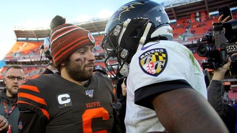 Cleveland Browns (+7) at Baltimore Ravens