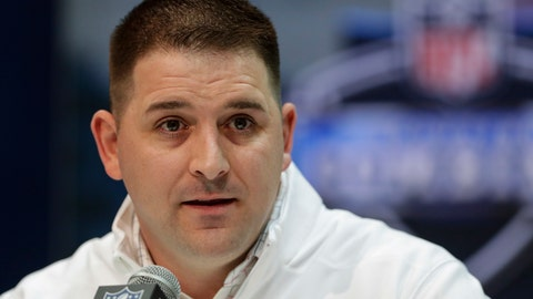 <p>               FLE - In this Feb. 25, 2020, file photo, New York Giants head coach Joe Judge speaks during a press conference at the NFL football scouting combine in Indianapolis. The NFL Draft is April 23-25, 2020. (AP Photo/Michael Conroy, File)             </p>