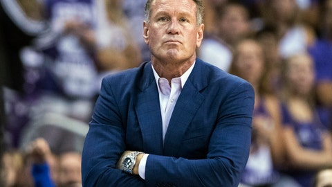 <p>               FILE - In this Dec. 9. 2018, file photo, Grand Canyon coach Dan Majerle watches his team play Nevada during the first half of an NCAA college basketball game in Phoenix. Former men's basketball coach Dan Majerle has filed a lawsuit for breach of contract after being fired by Grand Canyon in March 2020. (AP Photo/Darryl Webb, File)             </p>