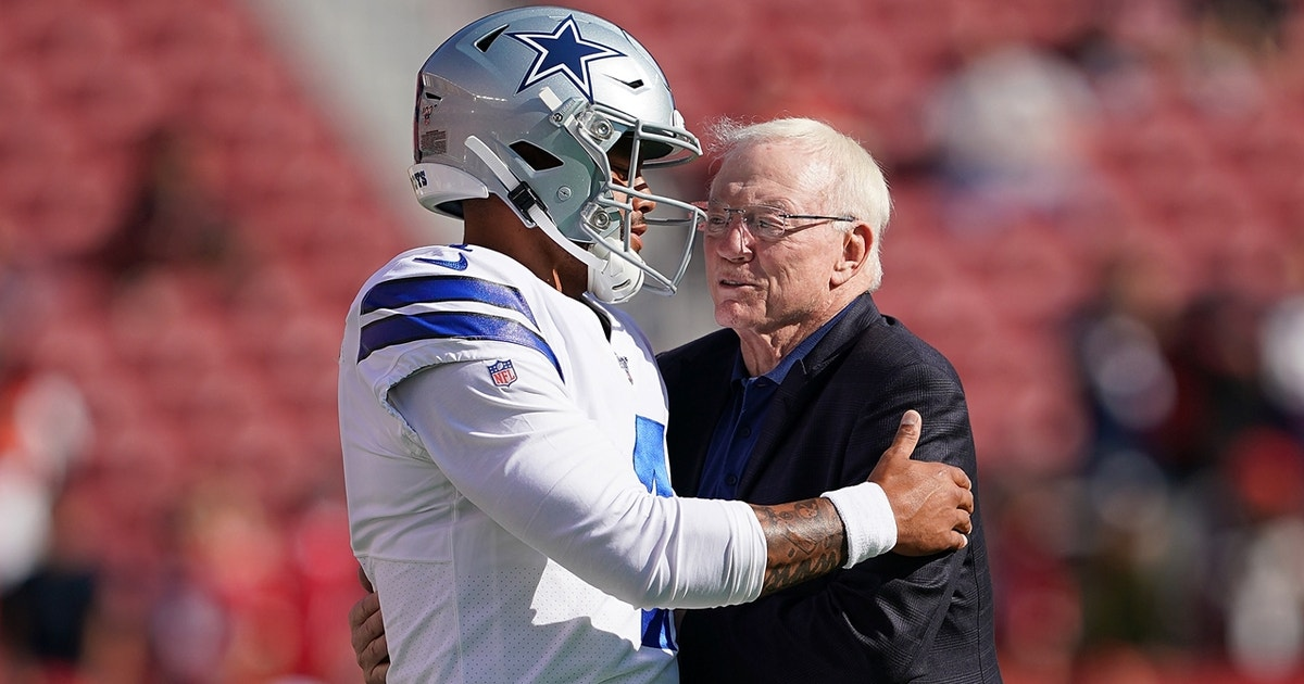 Colin Cowherd: If Dak Prescott really turned down $175M contract, the Cowboys should let him walk (VIDEO) thumbnail