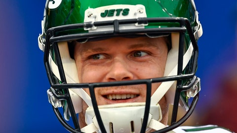 <p>               FILE - In this Dec. 29, 2019, file photo, New York Jets quarterback Sam Darnold (14) smiles before an NFL football game against the Buffalo Bills in Orchard Park, N.Y. Darnold was mostly pleased with how he finished last year with the New York Jets. The young quarterback enters his third NFL season knowing he needs to be even better. (AP Photo/Adrian Kraus, File)             </p>